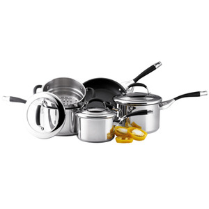 Photo of Circulon Elite 5 Piece Stainless Steel Set Cookware