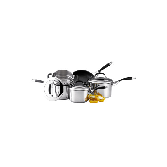 Circulon Elite 5 Piece Stainless Steel Set