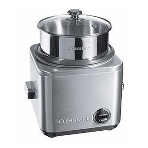 Photo of Cuisinart CRC800U Steamer and Rice Cooker (Brushed Stainless Steel) Steam Cooker