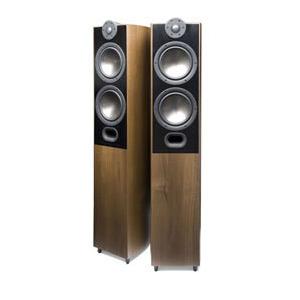 Photo of MORDAUNT SHORT MEZZO 6 FLOORSTANDING SPEAKERS DARK WALNUT Speaker