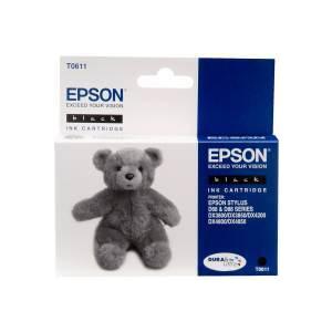 Photo of Epson Black Cartridge T0611 Ink Cartridge