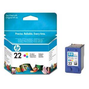 Photo of HP 22 IJ Print Cart Tri-Col 5ML Ink Cartridge