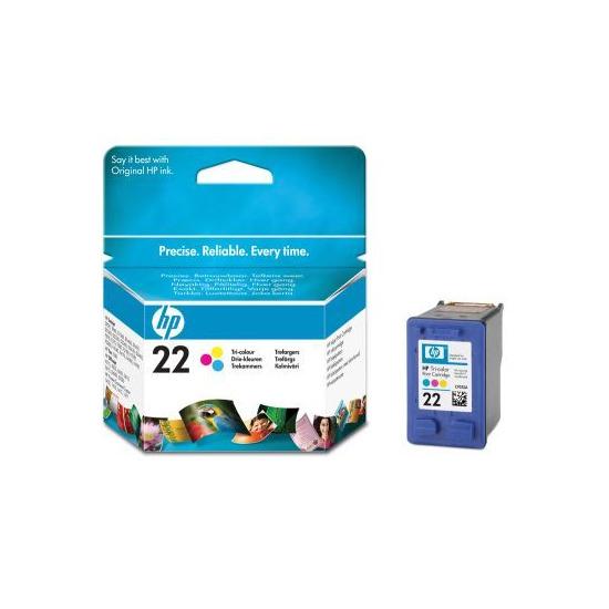HP 22 IJ Print Cart Tri-Col 5ml