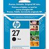 Photo of HP27 Black INKJET Cartridge (C8727A) Ink Cartridge