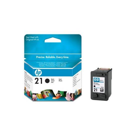 HP 21 Black IJ Print Cart 5ml