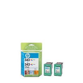 HP 343 Tri-colour Inkjet Print Cartridges Twin Pack Reviews