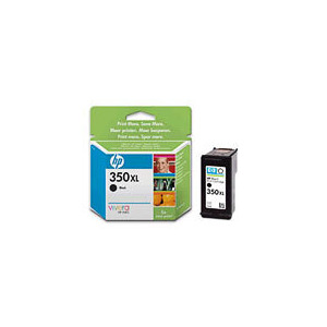Photo of HP 350XL Black High Capacity INKJET Cartridge Ink Cartridge