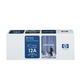 HP 12A LaserJet Black Toner Cartridge Reviews