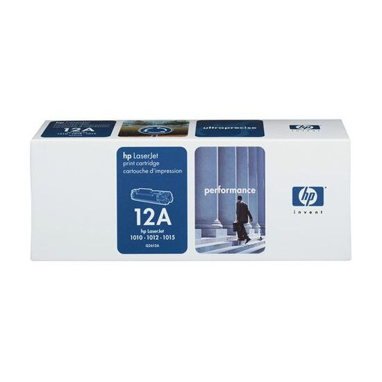 HP 12A LaserJet Black Toner Cartridge