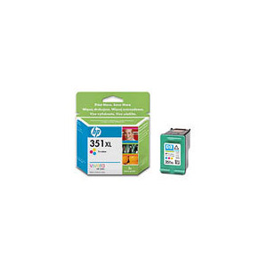 Photo of HP 351XL Colour Cartridge High Usage Ink Cartridge