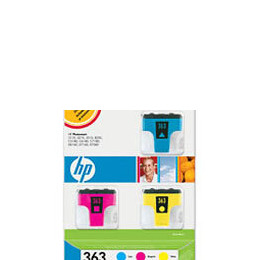 HP 363 Pack Cyan Magenta Yellow Reviews