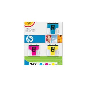 Photo of HP 363 Pack Cyan Magenta Yellow Ink Cartridge
