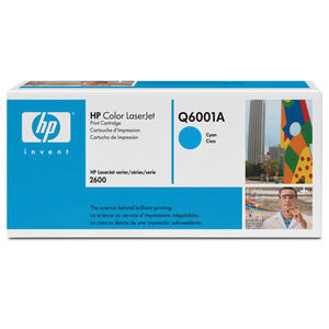 Photo of HP Laserjet Cyan Toner Cartridge, Q6001A Ink Cartridge