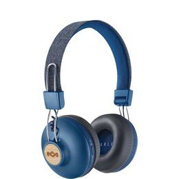 HOUSE OF MARLEY Positive Vibration 2 Wireless Bluetooth Headphones - Blue Reviews