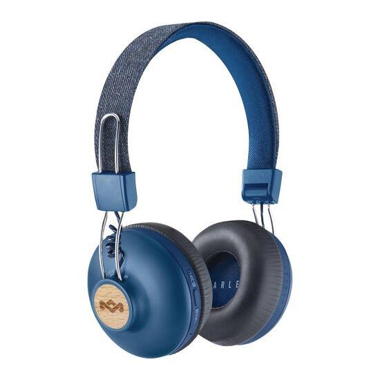HOUSE OF MARLEY Positive Vibration 2 Wireless Bluetooth Headphones - Blue