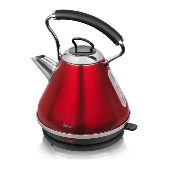 Swan SK34010REDN Traditional Kettle - Red