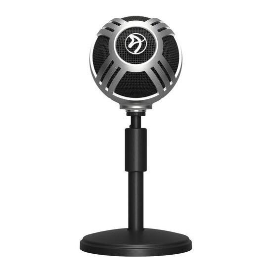AROZZI Sfera Pro USB Microphone - Silver