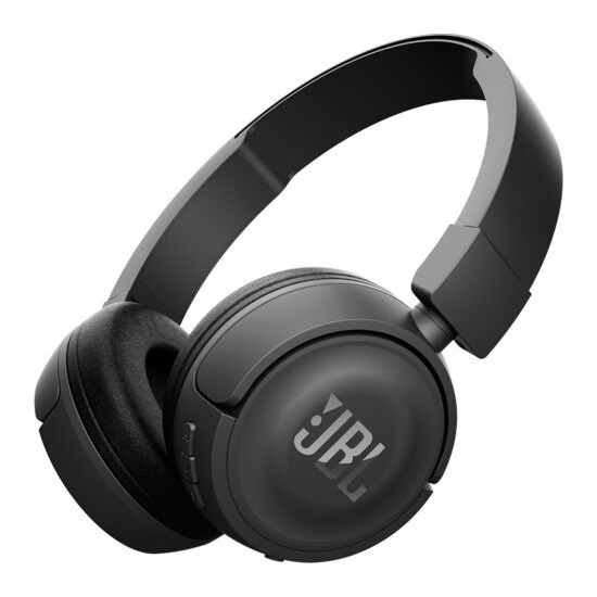 JBL T460BT Wireless Bluetooth Headphones - Black