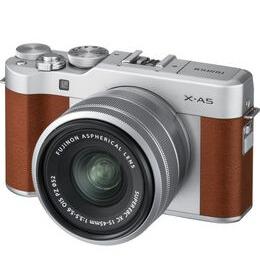 FUJIFILM X-A5 Mirrorless Camera with FUJINON XC 15-45 mm f/3.5-5.6 OIS PZ Lens - Brown Reviews