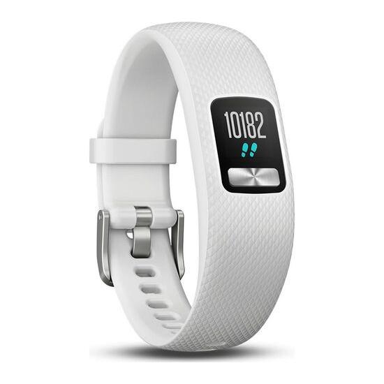 Vivofit 4 Fitness Tracker - White, Small/Medium