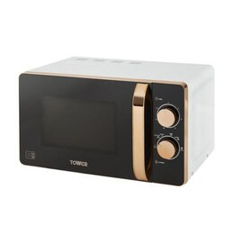 Tower T24020W 20L 800W Freestanding Microwave - Rose Gold & White Reviews