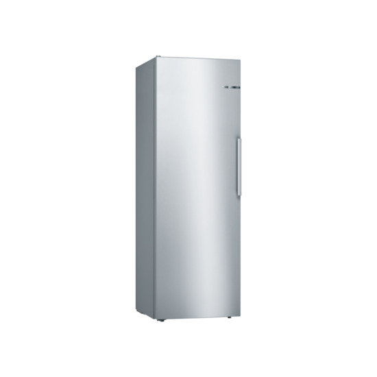 Bosch Serie 4 176x60cm 324L Freestanding Fridge Stainless Steel Look