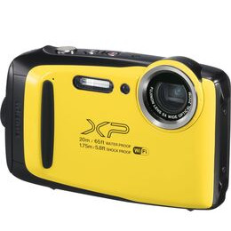 FUJIFILM XP130 Tough Compact Camera - Yellow Reviews
