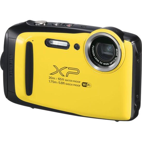 FUJIFILM XP130 Tough Compact Camera - Yellow