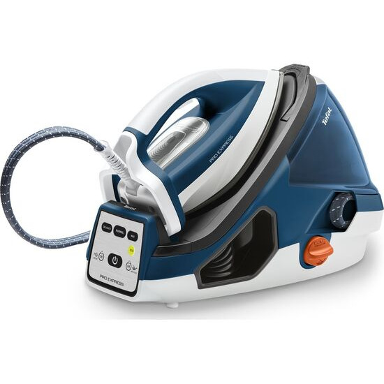 Tefal Pro Express GV7850 Steam Generator Iron - Blue & White