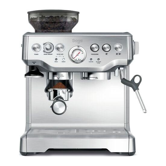 SAGE by Heston Blumenthal Barista Express BES875UK Bean to Cup Coffee Machine - Silver