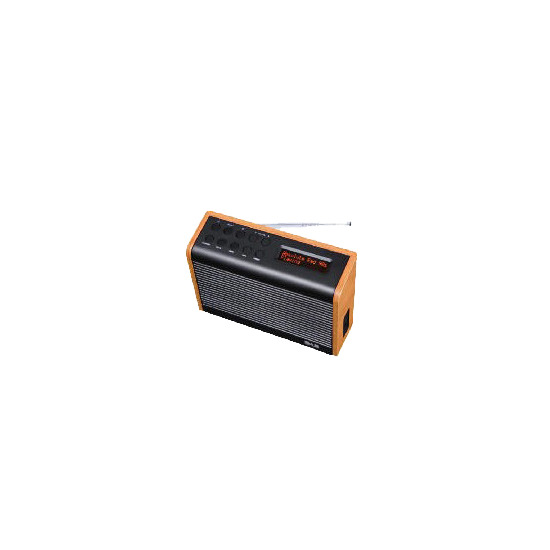 Tesco DAB1102STW Wood Effect DAB kitchen radio