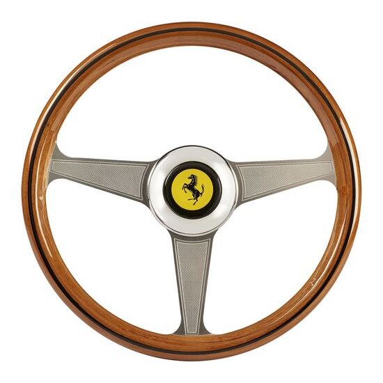THRUSTMASTER Ferarri 250 GTO Racing Wheel Add On - Silver & Brown