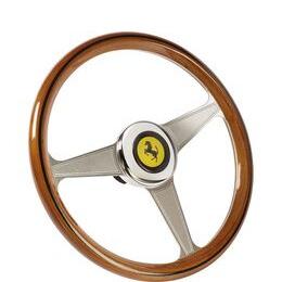 THRUSTMASTER Ferrari 250 GTO Racing Wheel - Silver & Brown