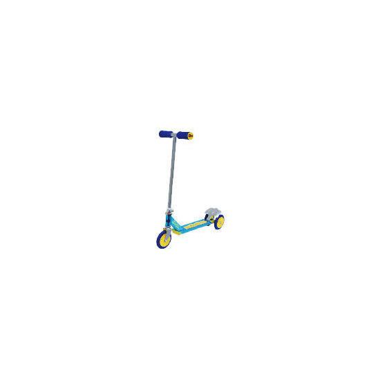 Ozbozz Alpha Nebulus Blue 3 Wheeled Scooter