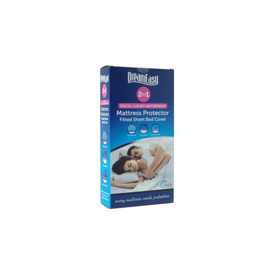 Dreameasy Tencel Waterproof Mattress Protector