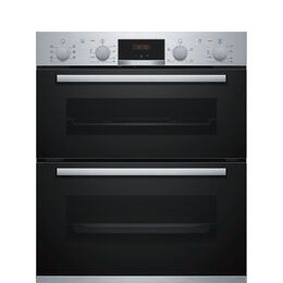 Bosch Serie 4 NBS533BS0B Electric Built-under Double Oven - Stainless Steel Reviews