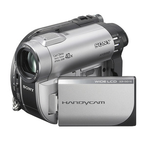 Photo of Sony DCR-DVD110 Camcorder