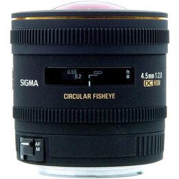 Sigma 4.5mm f2.8 EX DC Circular Fisheye HSM Nikon AFS
