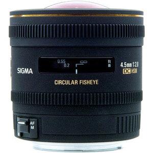 Photo of Sigma 4.5MM F2.8 EX DC Circular Fisheye HSM Nikon AFS Lens