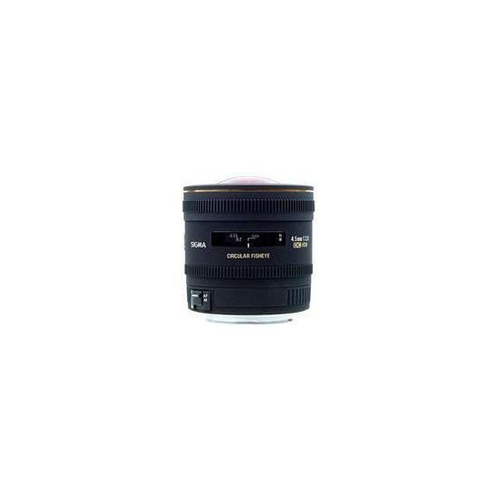 Sigma 4.5mm f2.8 EX DC Circular Fisheye HSM Canon AF