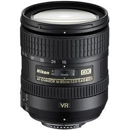 16-85mm f/3.5-5.6G ED VR AF-S DX Nikkor NAFS
