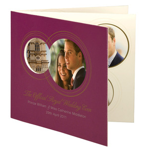 Photo of The Royal Wedding UK Official Commemorative Coin Gadget