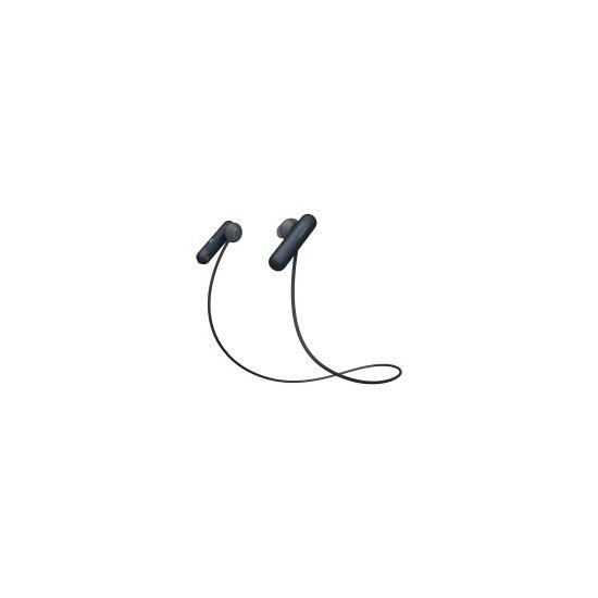 Sony WI-SP500B Wireless Bluetooth Headphones - Black