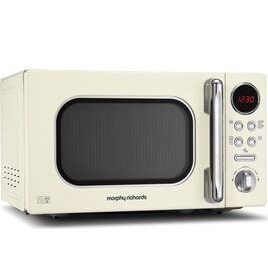 Morphy Richards Accents 511501 Compact Solo Microwave - Cream Reviews