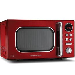 Morphy Richards Accents 511502 Compact Solo Microwave - Red Reviews