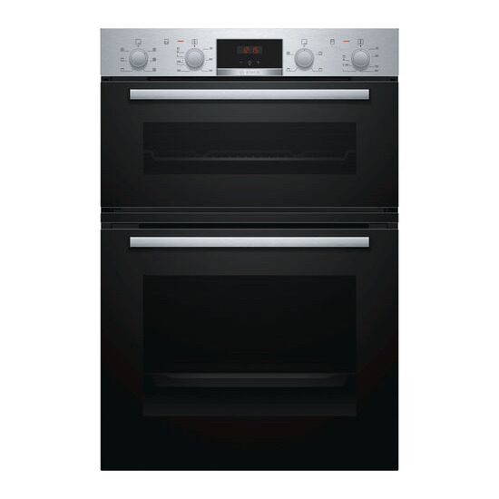 Bosch MBS133BR0B Electric Double Oven Stainless Steel