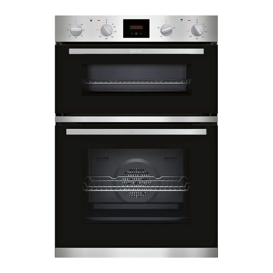 NEFF U1HCC0AN0B Electric Double Oven Stainless Steel