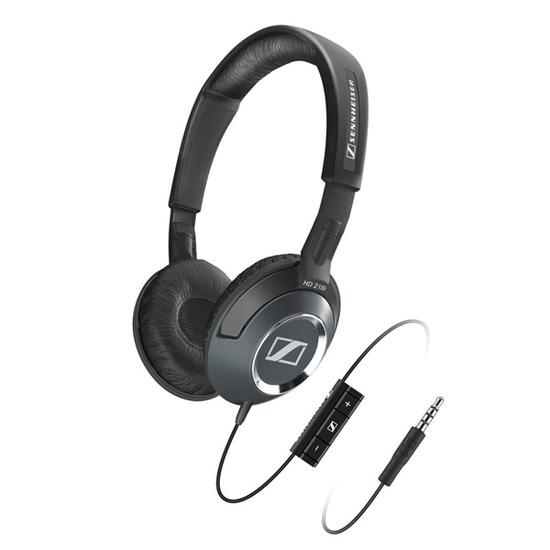 SENNHEISER HD218i Headphones - Black