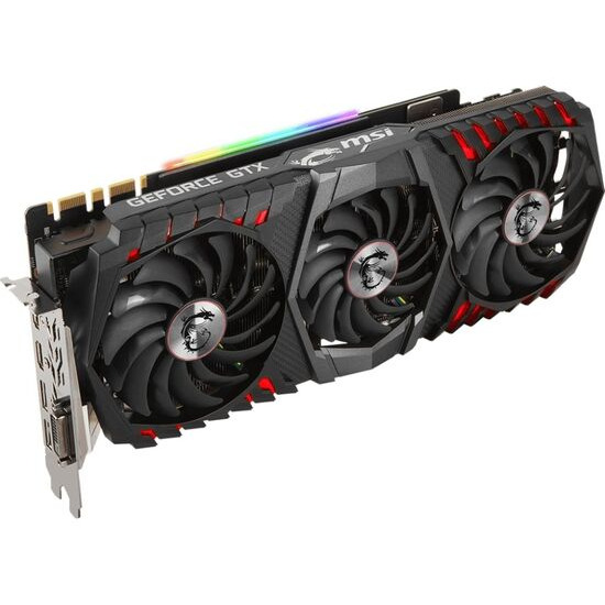 MSI GeForce GTX 1080 Ti 11 GB Gaming X Trio Graphics Card