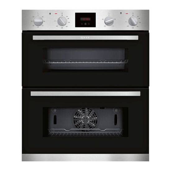 Neff J1HCC0AN0B Electric Built-under Double Oven - Stainless Steel